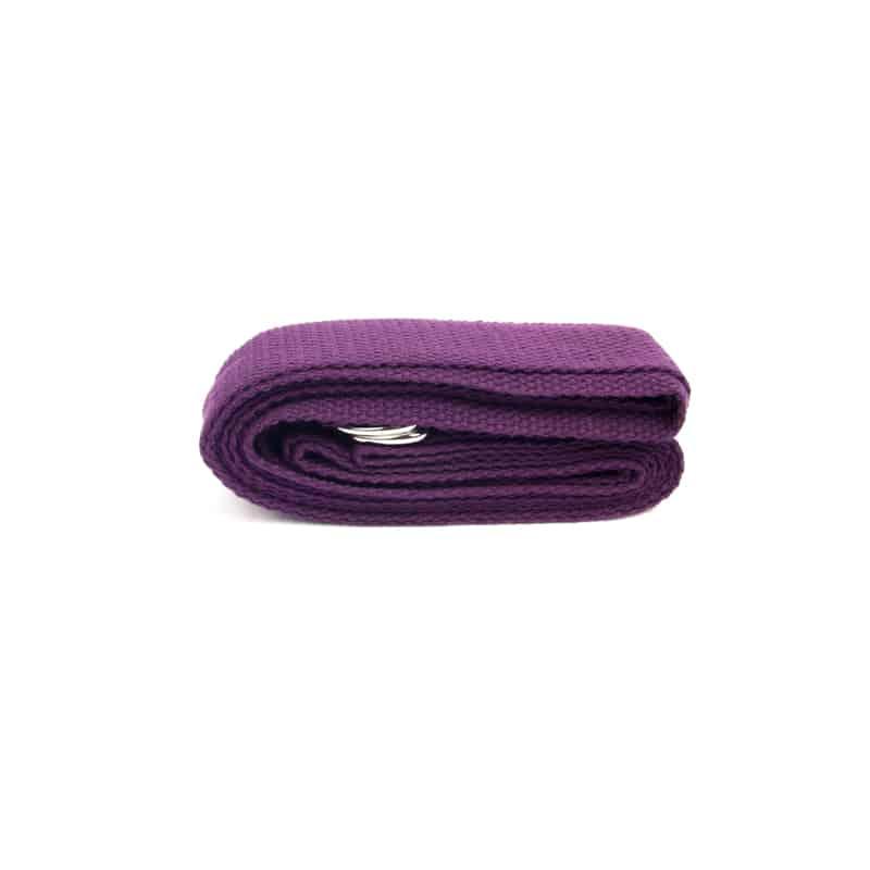 Spiru Yoga Riem D-ring Paars