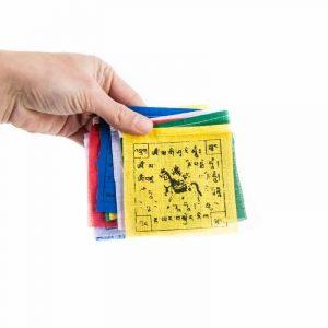 Gebedsvlaggen koord Tibetaans met 10 Vlaggen