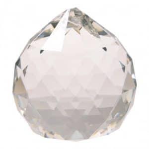 Regenboogkristal Bol Transparant AAA Kwaliteit Klein