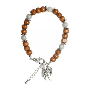 Engelen Armband Aartsengel Michaël - Aquamarijn