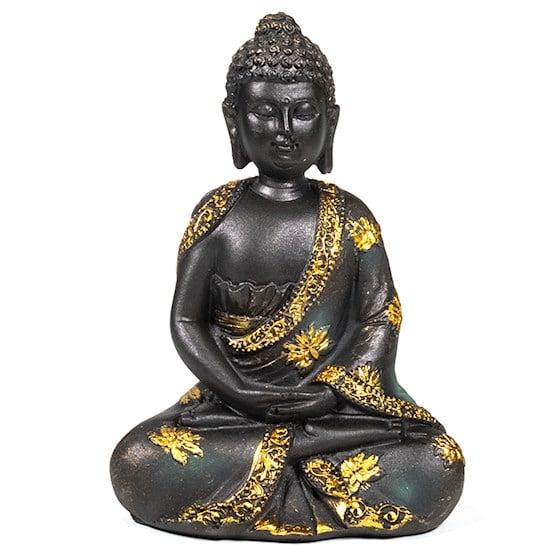 Spiru Meditatie Boeddha Antieke Finish -16 cm