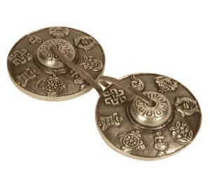 Tingsha's 8 Voorspoedsymbolen (310 gram)