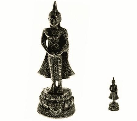 Spiru Minibeeldje Boeddha Staand Verjaardag Zondag - 6 cm