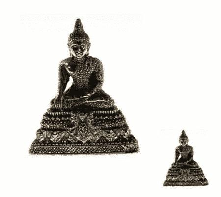 Spiru Minibeeldje Boeddha Verjaardag Donderdag - 4,5 cm