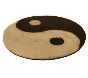Wierookbrander Yin Yang Zeepsteen