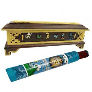 Wierookbrander Tibetaans Hout OMPMH (36 x 12 cm)