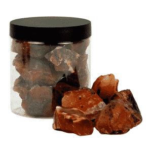 Carneool Chips in Pot