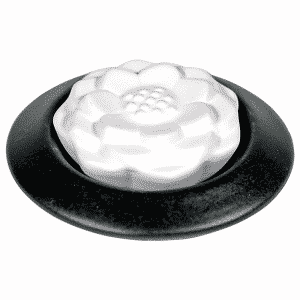 Geurstenen Lotus Geursteen - Zwart