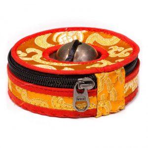 Hoesje voor Tingsha's Oranje-Rood Large