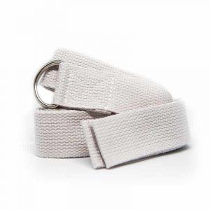 Yoga riem D-ring Beige Katoen