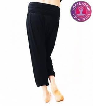Yogabroek Comfort Flow Zwart