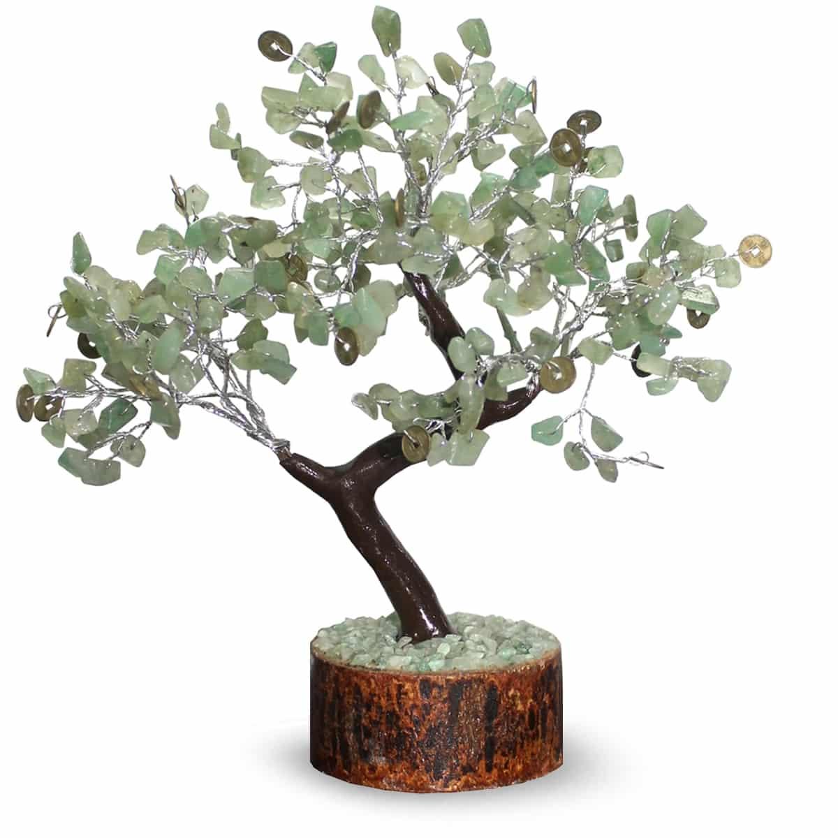 Edelsteen boompjes doen het prima in de slaapkamer voor een goede nachtrust of in een meditatie ruimte voor ...