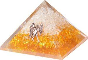 Orgoniet Piramide - Citrien met Engel