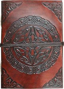 Notitieboek Leer Keltische Knoop