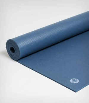 Manduka PRO Yogamat PVC Blauw 6 mm - Oddysey- 180 x 66 cm
