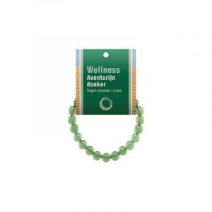 Powerbead Armband Aventurijn Groen (Met Displaykaart)