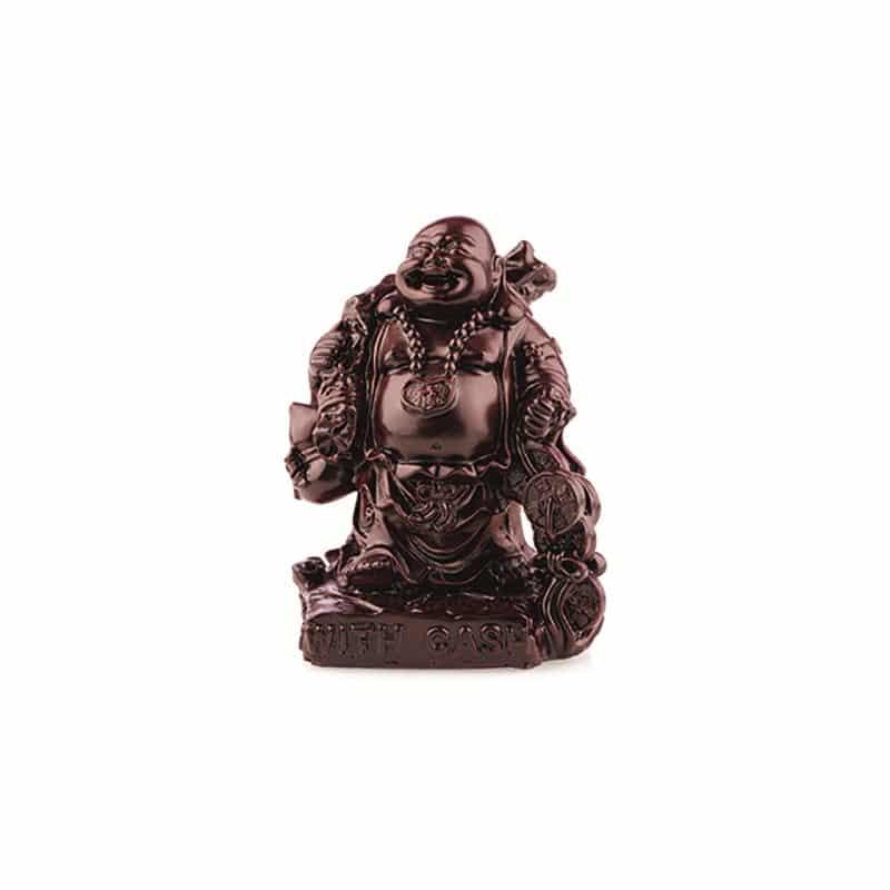 Spiru Boeddha Rood With Cash (15 cm)