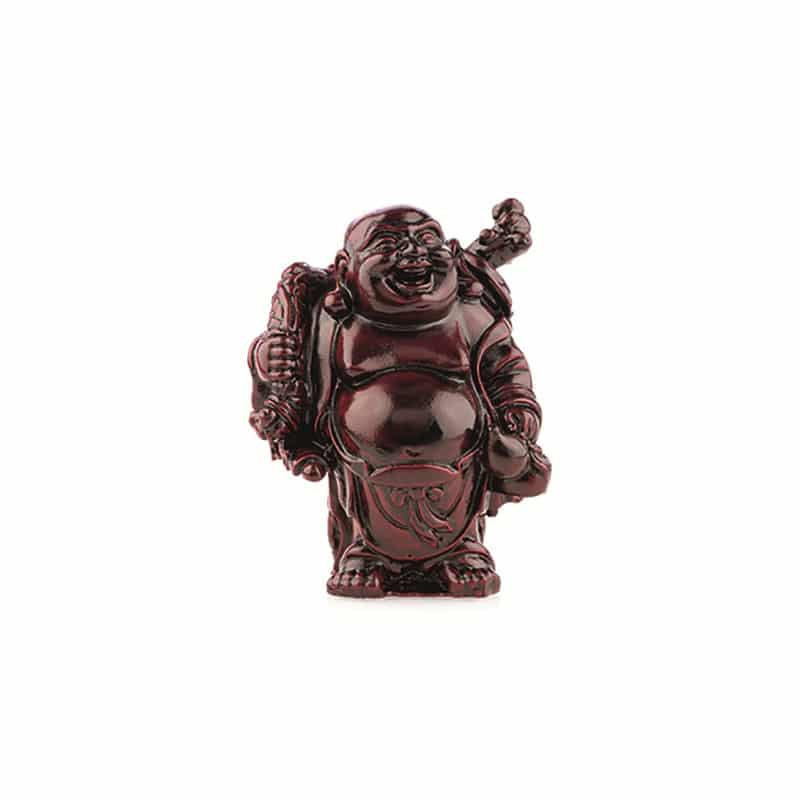 Spiru Boeddha Rood Knapzak en Kruik (9 cm)