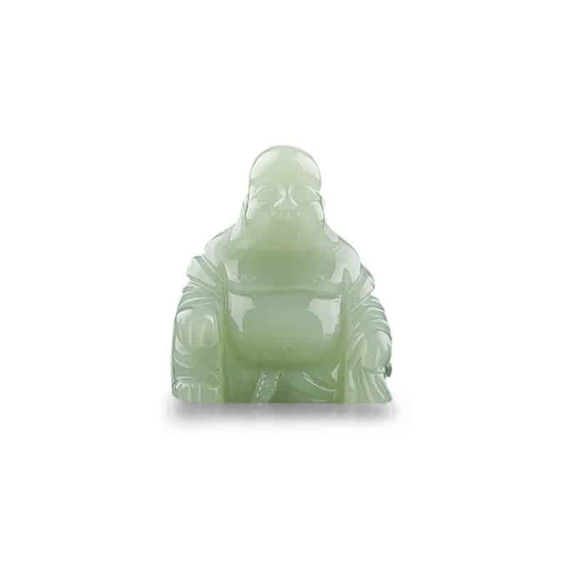 Spiru Boeddha van Edelsteen - Jade (55 mm)