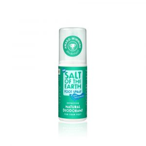 Salt of the Earth Vegan Deodorant Spray voor Voeten (100 ml)