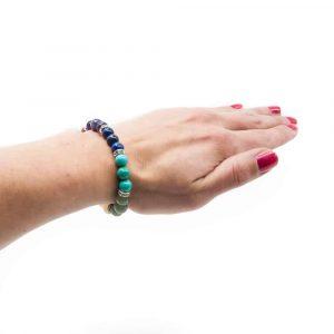 7 Chakra Armband Elastisch