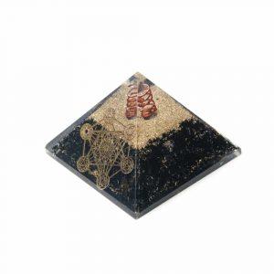 Orgone Pyramide Zwarte Toermalijn Metatron Groot