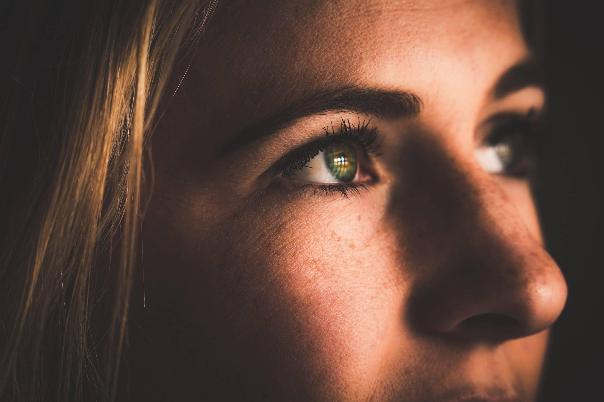 ogen vrouw
