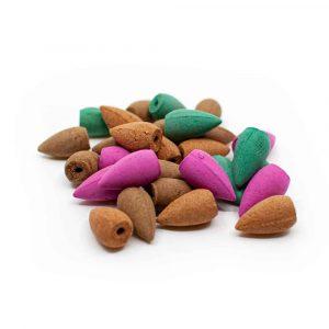 Backflow Wierook Cones Mix - 50 gram