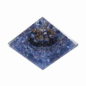 Orgone Piramide – Lapis Lazuli Edelsteenboompje Groot