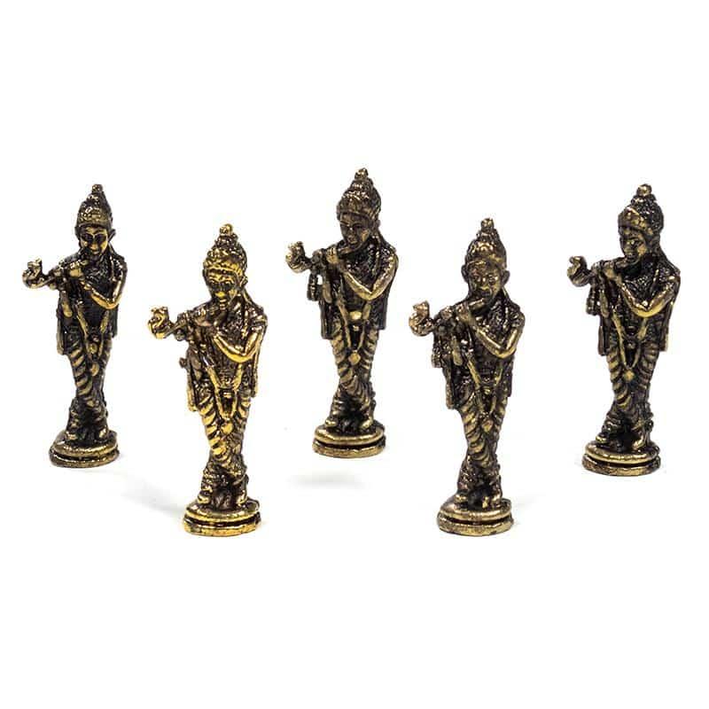 Spiru Minibeeldje Krishna (4 cm)