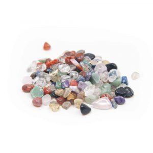 Trommelstenen Bergkristal Oplaadmix (5 to 10 mm) - 100 gram