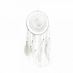 Dromenvanger Mandala Wit - 50 cm
