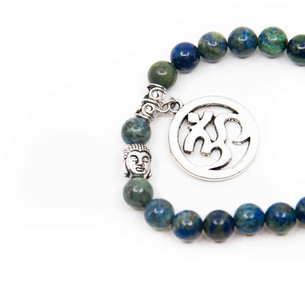 armband blauw groen ohm teken