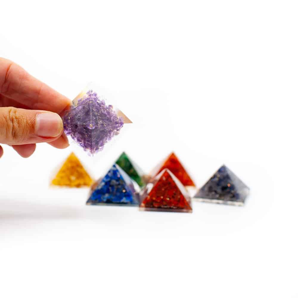 chakra piramides orgone