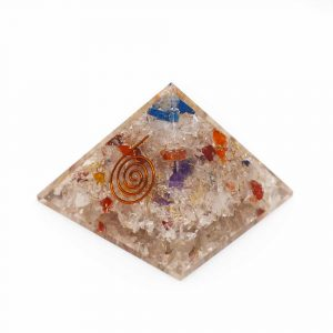 Orgone Piramide Chakra Mix (70 mm)