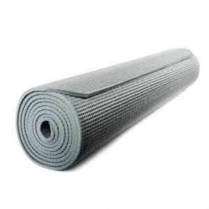 Yogi & Yogini Yogamat PVC Grijs 5 mm - 183 x 61 cm