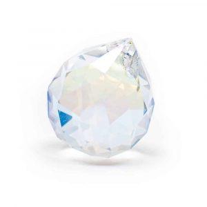 Regenboogkristal Bol Parelmoer (50 mm)
