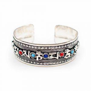 "Tibetaanse Armband Handgemaakt ""Grace"""