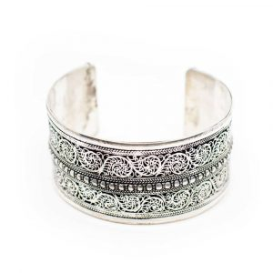 "Tibetaanse Armband Handgemaakt ""Florality"""