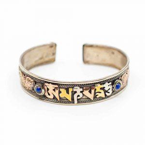 "Tibetaanse Armband Handgemaakt ""Wisdom"""