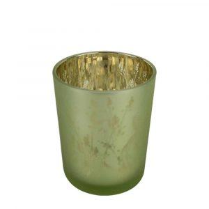 Waxinelichthouder Konijn Groen (10 x 8 cm)