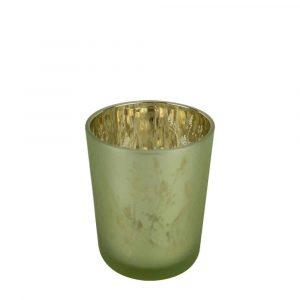Waxinelichthouder Konijn Groen (8 x 7 cm)