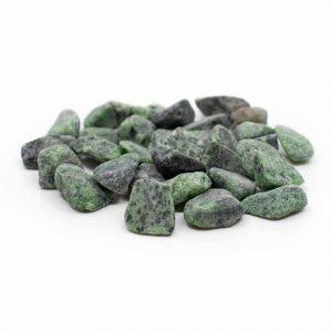 Trommelstenen Robijn in Zoisiet (20 tot 40 mm) - 200 gram