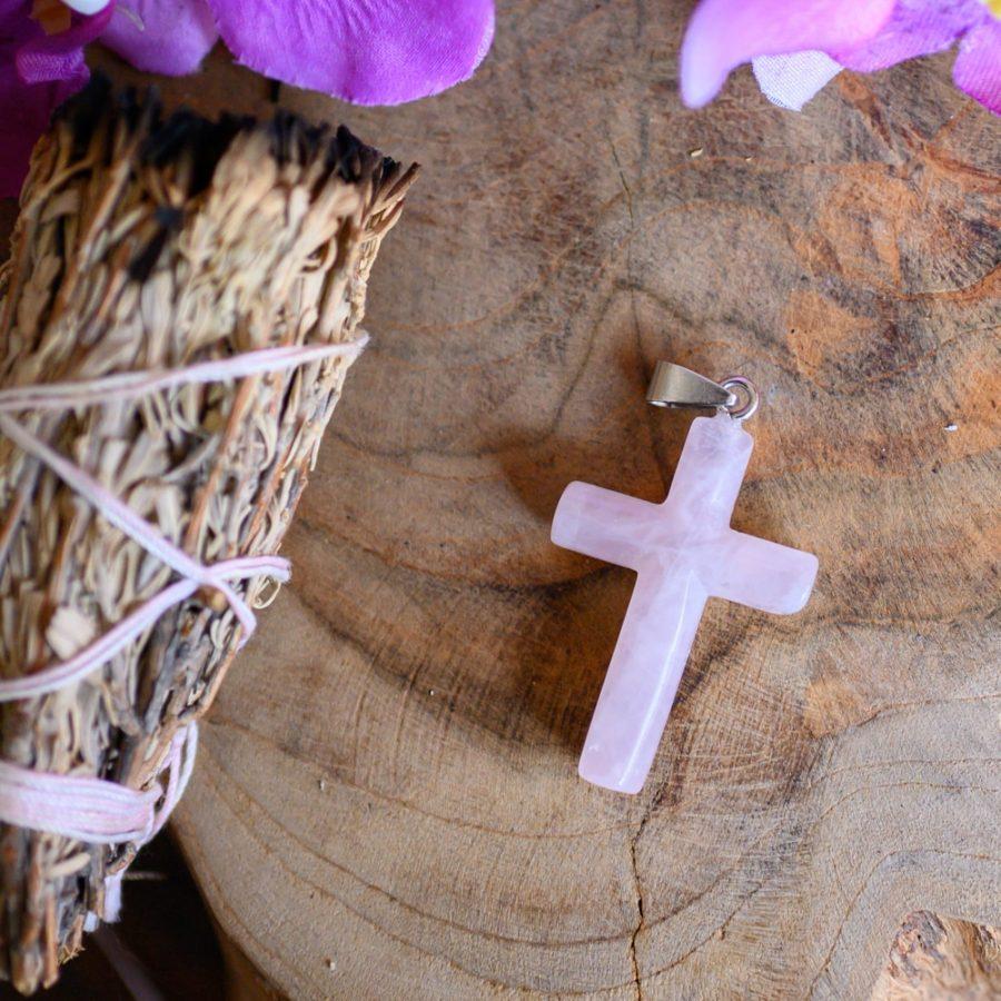 rozenkwarts kruis spiritueel symbool