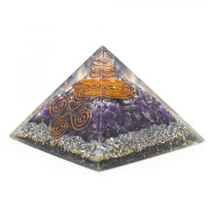 Orgoniet Piramide - Amethist Vastu (70 mm)