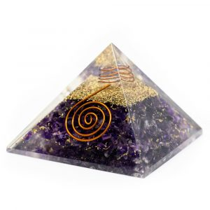 Orgonite Piramide Amethist (40 mm)