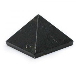 Piramide Edelsteen Zwarte Tourmalijn (25 mm)