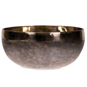 Klankschaal Ishana Zwart - Goudkleurig (10 cm)