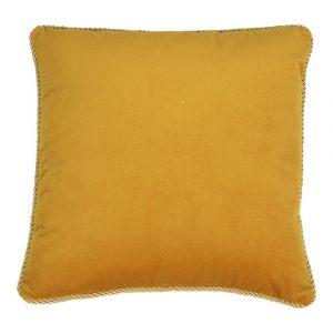Fluwelen Kussen Honingkleurig (45 x 45 cm)