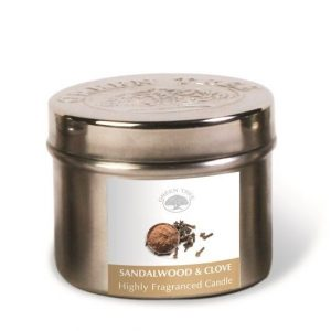 Green Tree Geurkaars Sandalwood & Clove (150 gram)